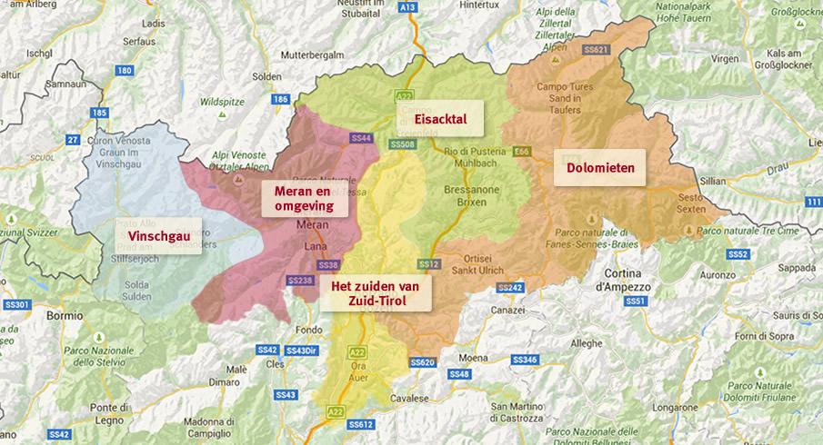 Zoeken Op De Kaart Accommodatie In Zuid Tirol Roter Hahn