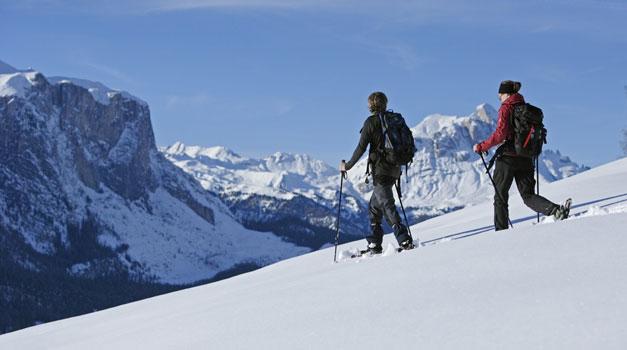 Sneeuwschoenwandelen In Zuid Tirol Vakantie Op De