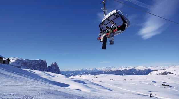 Ski 235 N In Zuid Tirol Ski 235 N In De Dolomieten Roter Hahn